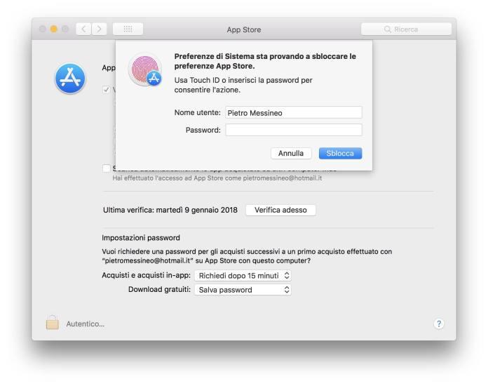 www.italiamac.it app store in preferenze di sistema puo essere sbloccato con qualsiasi password app store preferenze di sistema App Store in Preferenze di Sistema può essere sbloccato con qualsiasi password