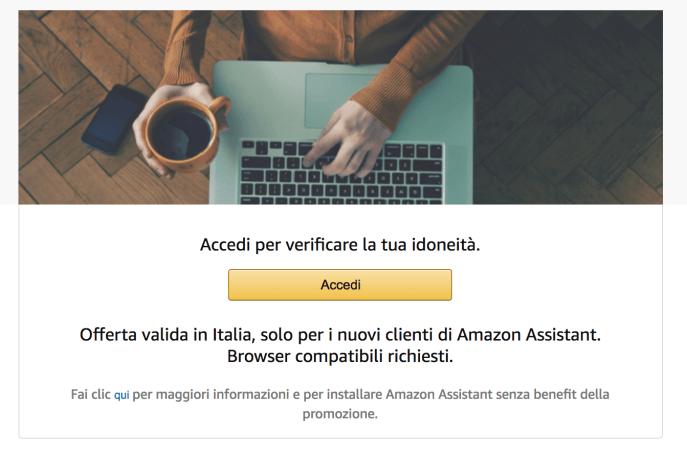 italiamac schermata 2018 02 27 alle 20.39.09 Installa Amazon Assistant e ottieni 5 € di sconto sul prossimo acquisto