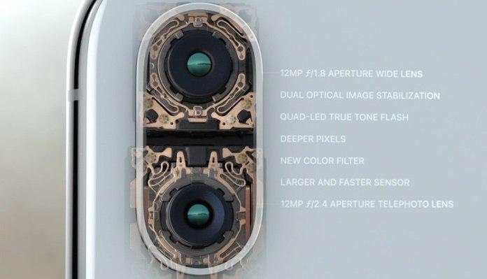iPhone X spec camera