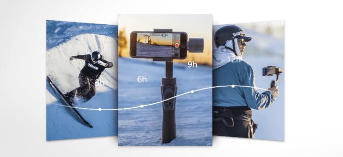 italiamac schermata 2018 03 29 alle 22.40.43 Stabilizzatore a 3 assi per smartphone in sconto su Cafago