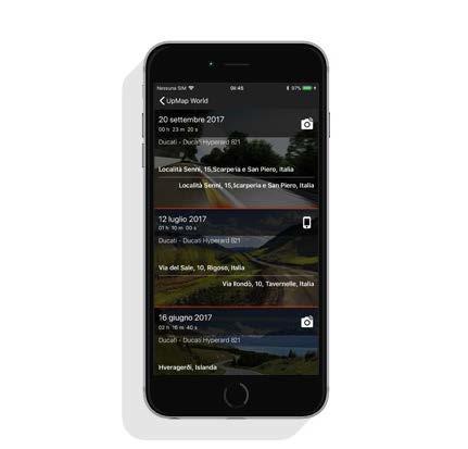 italiamac sessioni UpMap Termignoni potenza a portata di iPhone
