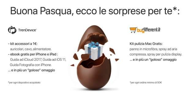 italiamac promo pasqua pr 1 620x310 Su TrenDevice e BuyDifferent termina oggi 4 Aprile la promozione di Pasqua. Tanti regali tutti per voi!