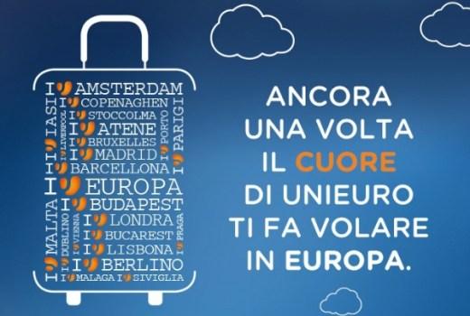 italiamac unieuro volo promozioni Unieuro: Voli gratis in Europa se spendi almeno €300