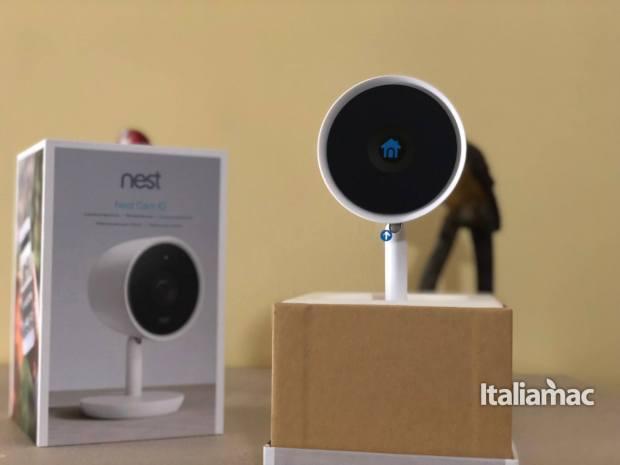 italiamac nes cam iq unboxed 620x465 Nest Cam IQ, sorvegliare la propria abitazione non è mai stato cosi semplice