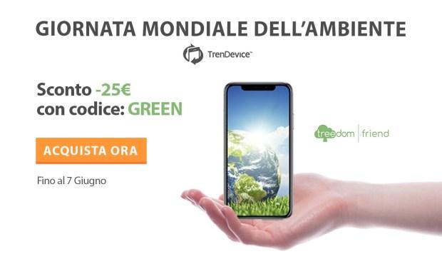 italiamac giornataambiente pr 620x363 Giornata mondiale dell'ambiente: con Trendevice risparmi 25€ e aiuti il pianeta piantando alberi in Italia e nel resto del mondo.