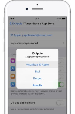 italiamac ios11 iphone7 settings itunes app store view apple id on tap Da oggi è possibile acquistare le app con il credito telefonico tramite SIM TIM