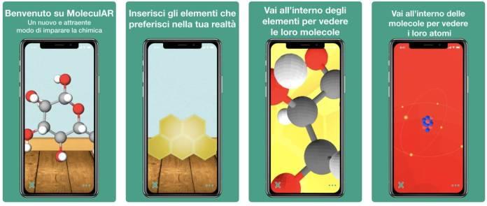 italiamac italiamac schermata 2018 06 01 alle 15.09.33 MoleculAR: Imparare la chimica in realtà aumentata