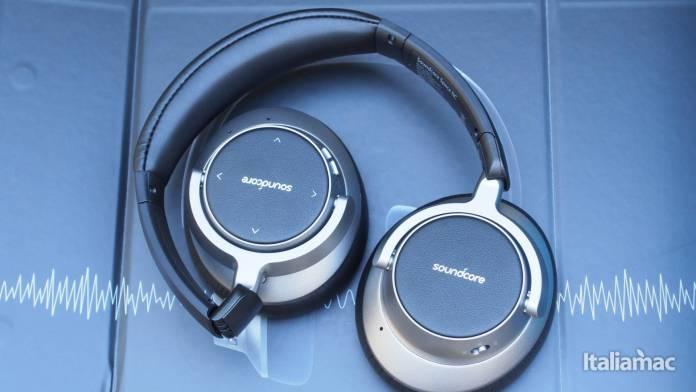 italiamac p6291313 Soundcore Space NC: Le cuffie professionali Anker con cancellazione del rumore