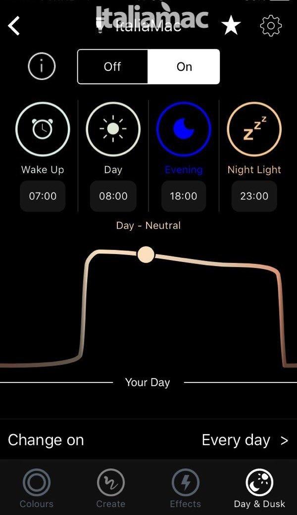 italiamac lifx app 1 LifX: le luci per la casa compatibili con HomeKit
