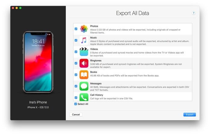 italiamac bdd78c7f 766f 4d50 aecb 457532017488 iMazing si aggiorna introducendo il supporto a macOS Mojave e iOS 12