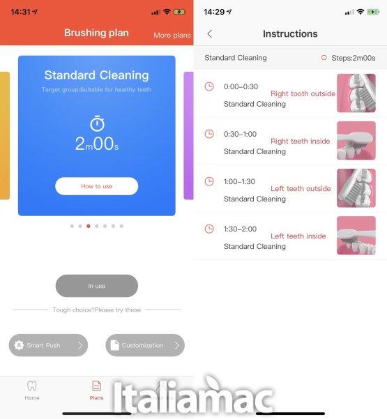 italiamac oclean plan app La prova su strada di Oclean Air lo spazzolino da denti intelligente