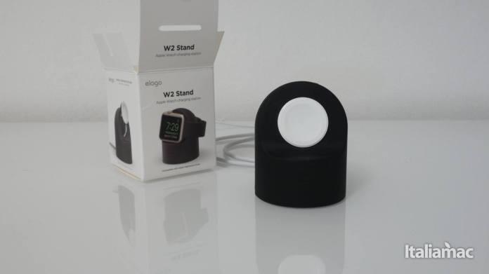 italiamac elago w2 charger Elago W2 lo stand economico per caricare Apple Watch