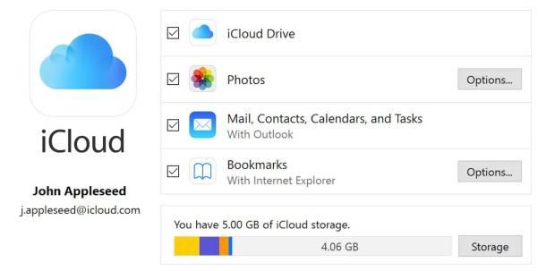 italiamac italiamac screen shot 2 620x303 Apple aggiorna iCloud e corregge il problema con Windows 10 october update