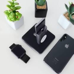 HiRise Duet: L'elegante stand per caricare Apple Watch e iPhone di Twelve South