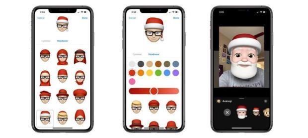 italiamac memoji natale 620x277 Come aggiungere il cappello di Babbo Natale al tuo Memoji su iPhone e iPad