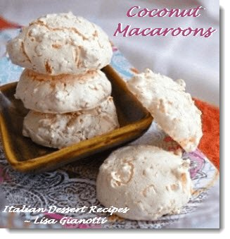 Coconut Macaroon Cookies Crispy Outside Chewy Inside