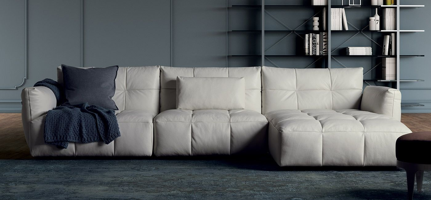 Herman Sofas  Sectionals Living  Natuzzi Italia