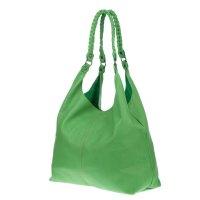Marco Masi Italian Made Green Leather Oversized Designer ...