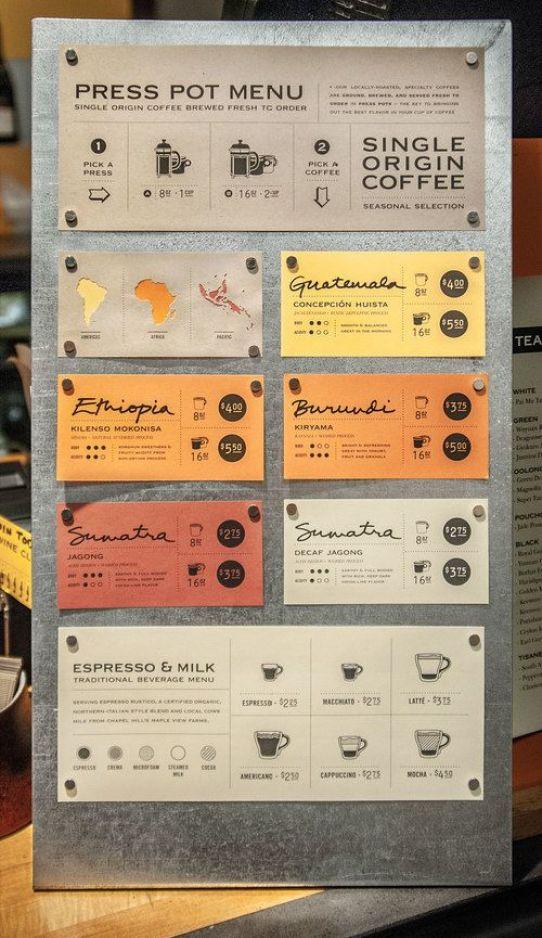 original menu design ideas 6 - Menu Design Ideas