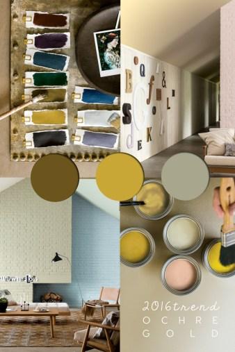 ochre color, colour ochre, colour trends, ochre color palette, colour and trends, golden ochre