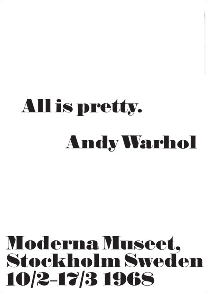 andywarhol-quote-printed art-all is pretty