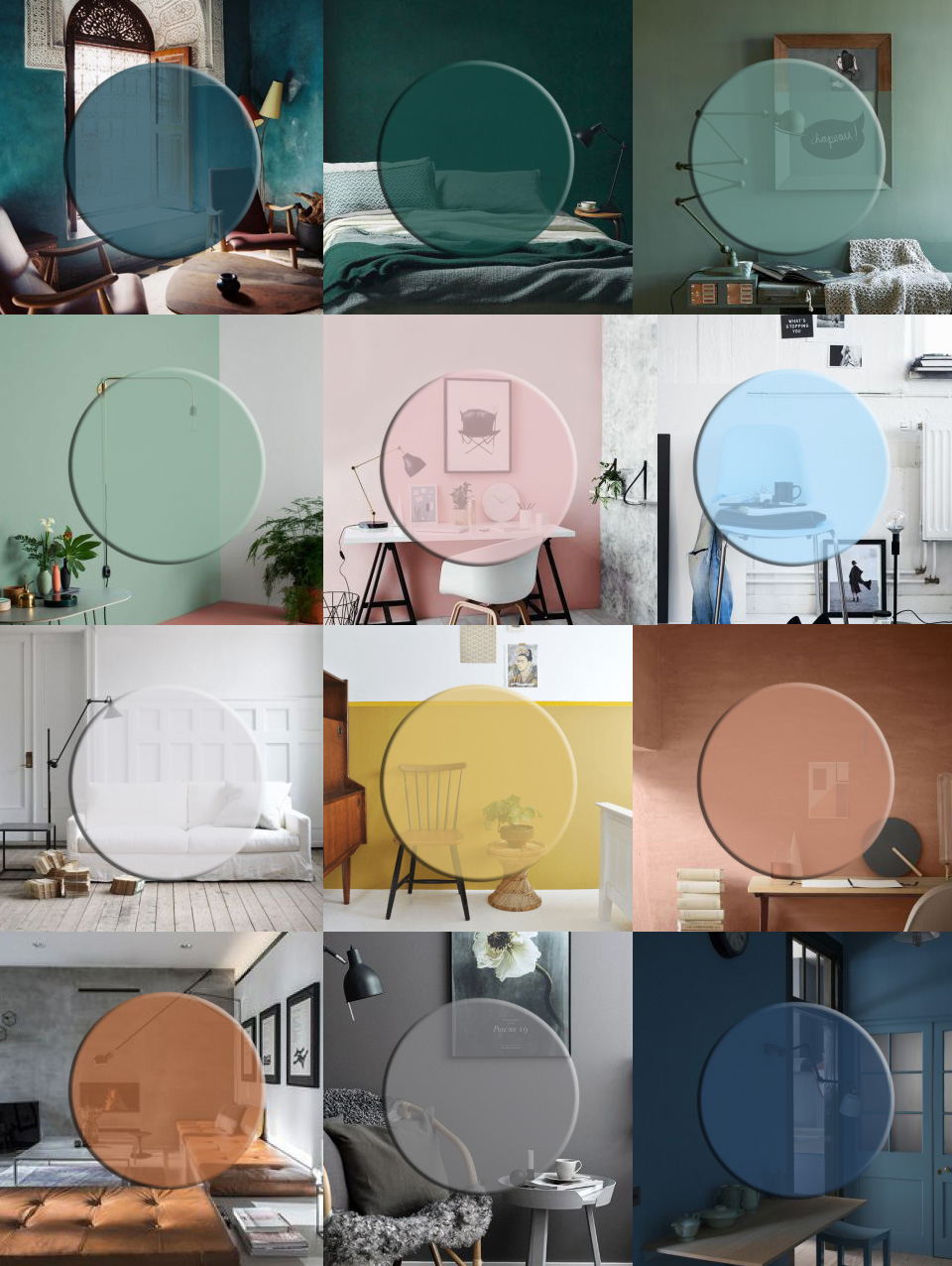 A Calendar Of 2016 Colour Interior Trends For Designtime