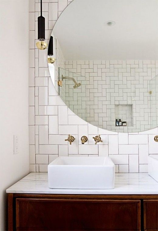 How to make a small bathroom look bigger in 7 tips for How to make my bathroom look bigger