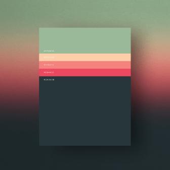 minimalist colour palette, minimalist palette, minimalist poster design