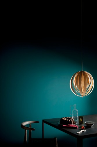 Teal paint interior trend ITALIANBARK