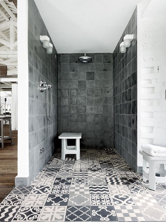 Italian Style Interior, Italian Style, Italian Interiors, Cementine, ,  Paola Navone,