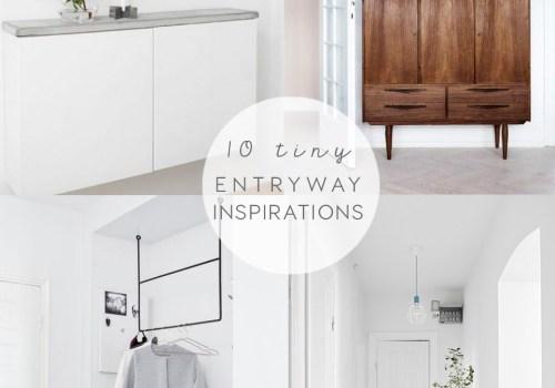 TINY ENTRYWAY IDEAS, entrace ideas, entry decor, italianbark, idee ingresso