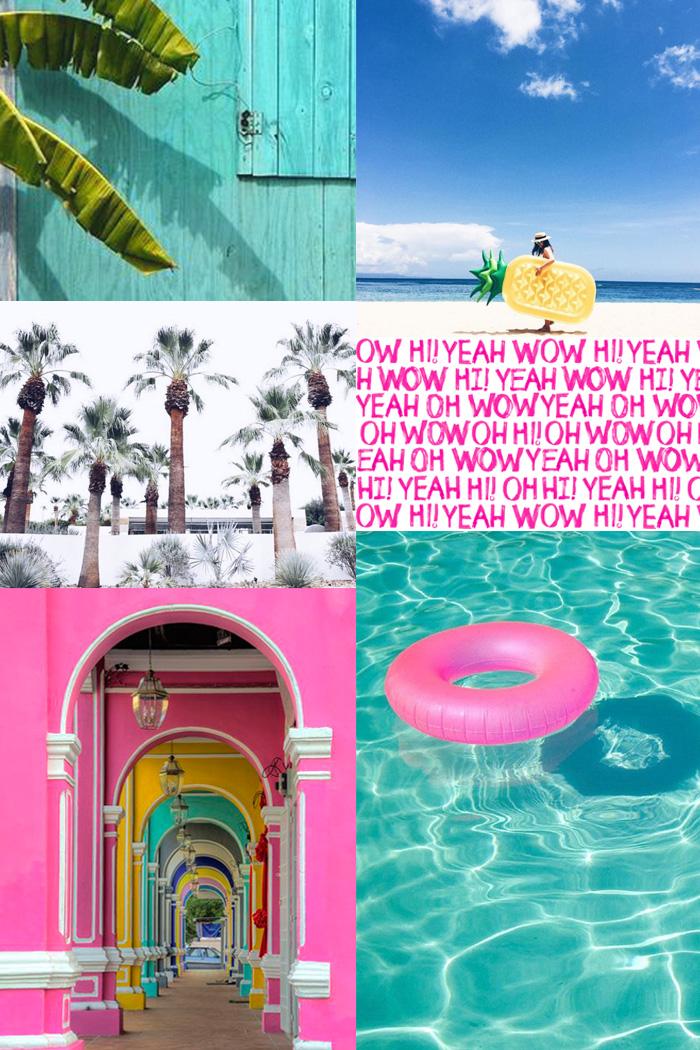 Summer Holidays Moodboard DESIGNTIME 16 ITALIANBARK