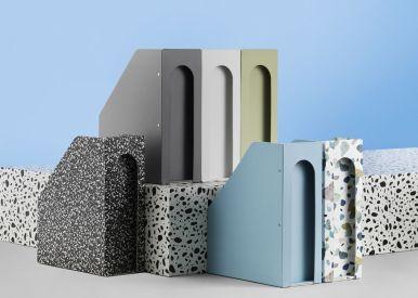 terrazzo trend, terrazzo finish, terrazzo interiors, terrazzo design, italianbark interior design blog, normann copenhagen stationery