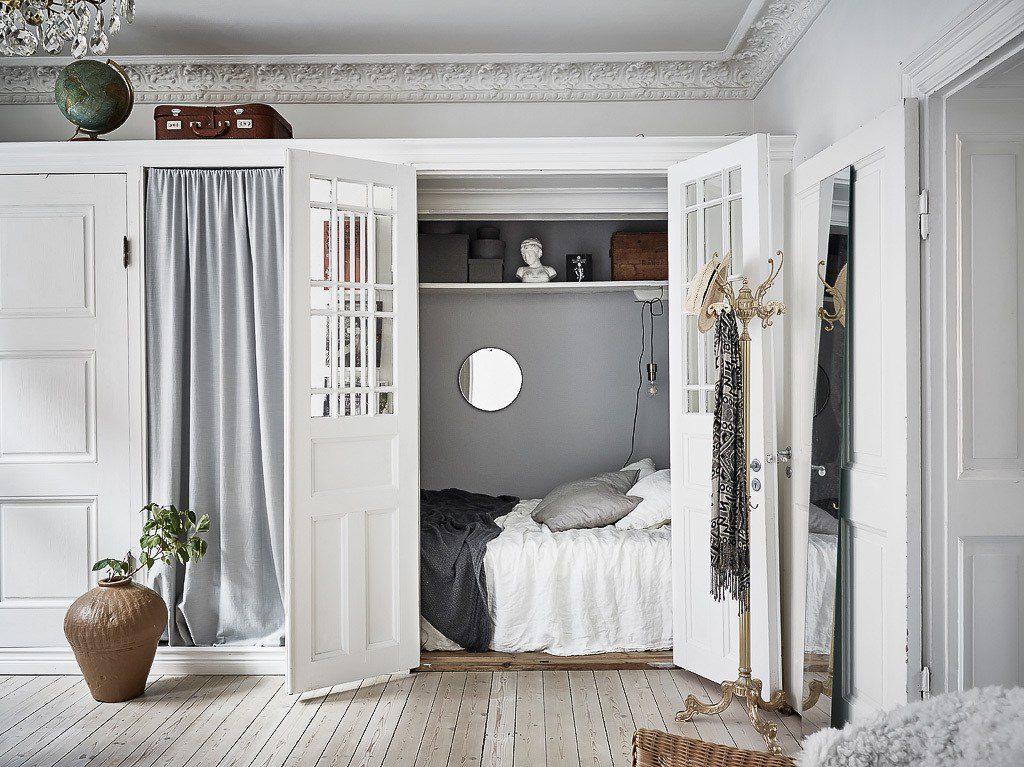 Home Tour Smart Small Bedroom Ideas In A Scandinavian Interior
