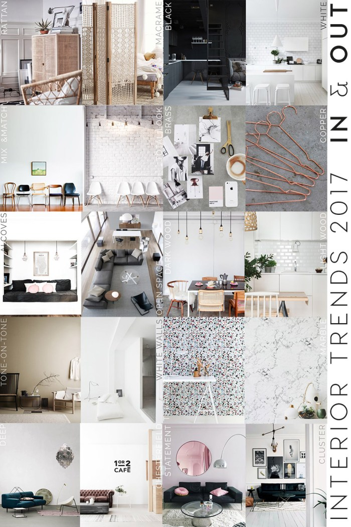 color trends 2017 for interiors and home decor italianbark. Black Bedroom Furniture Sets. Home Design Ideas