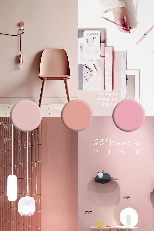 pink interior trend maison objet 2017 trend report. Black Bedroom Furniture Sets. Home Design Ideas