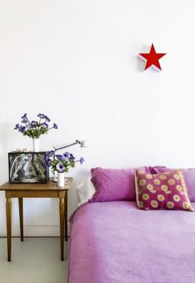 colourful bohemien home, madrid interior, boho apartment, fucsia home decor, italianbark interior design blog