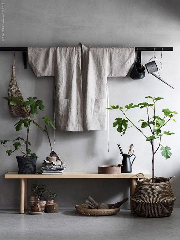 japandi interior trend, get the perfect japandi style, wabi sabi, minimal zen, italianbark interior design blog, kimono wall