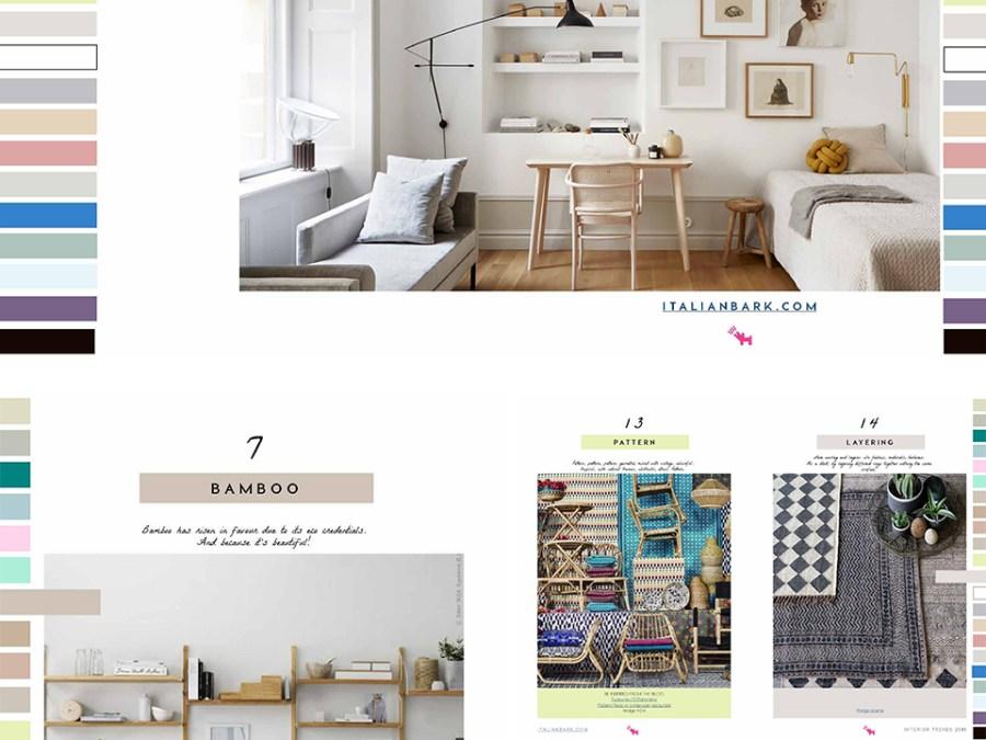 interior decorating trends 2018, italianbark interior design blog