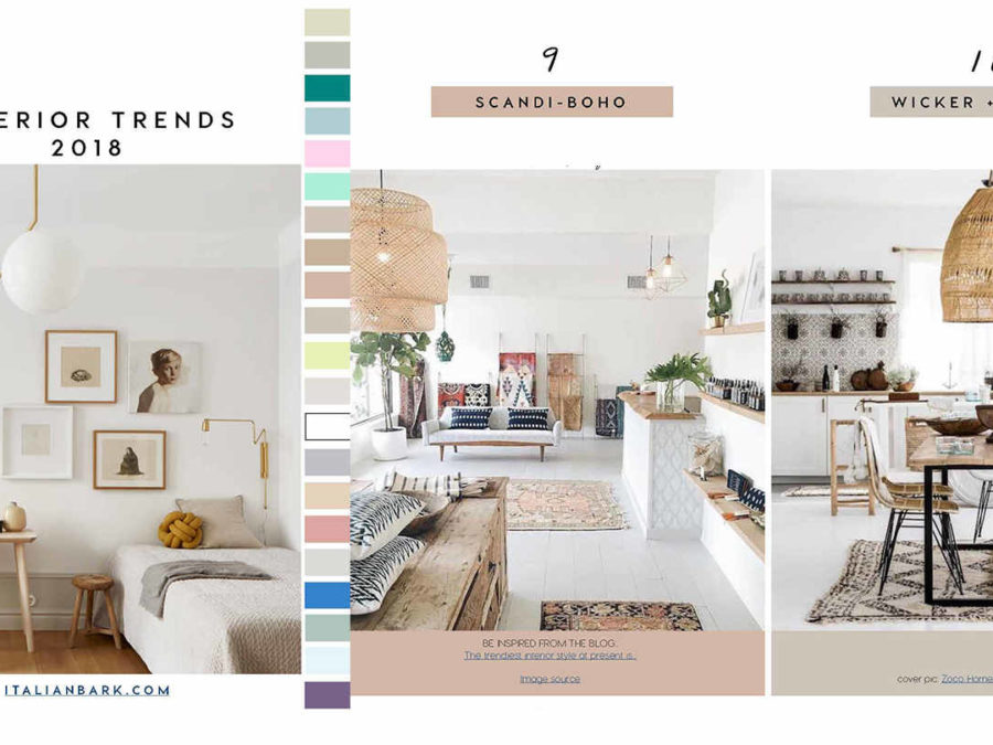 Decorating Trends 2018 24 Key Interior Decor Trends And Free Book