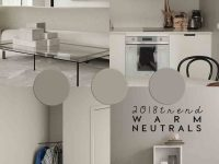 INTERIOR TRENDS | Neutral Paint Colors for 2018 and more