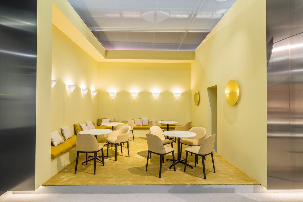 imm cologne 2018 trends, interior trends 2019, italianbark interior design blog, pastel interior trend, vitra imm 2018