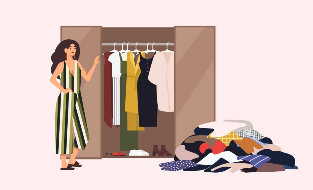 Decluttering My Wardrobe For The New Season With Mercatopoli