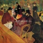 A Spring Day At The Atlanta Art Museum: Toulouse~Lautrec!