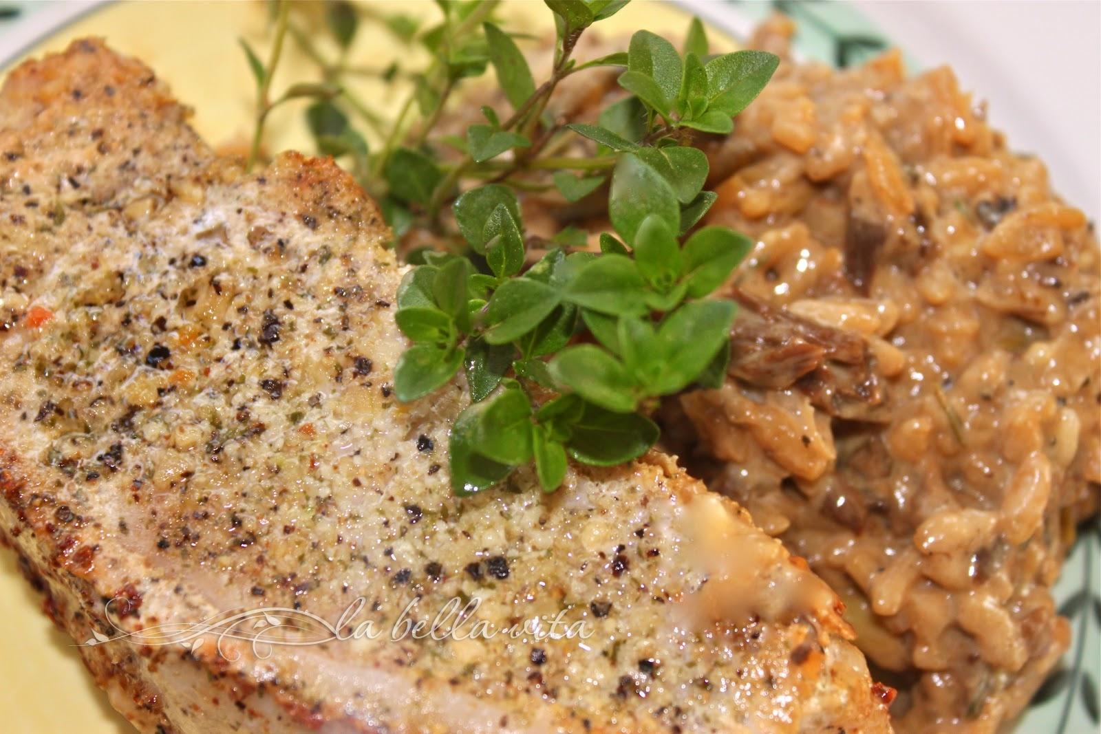 Risotto with Porcini Mushrooms and Mascarpone Cheese - La ...