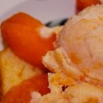 Luscious Fresh Peach Ice Cream