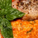 Tomato Basil Risotto