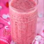 Valentine's Strawberry, Banana & Pineapple Smoothie!