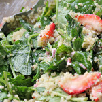 Kale, Quinoa, and Strawberry Salad