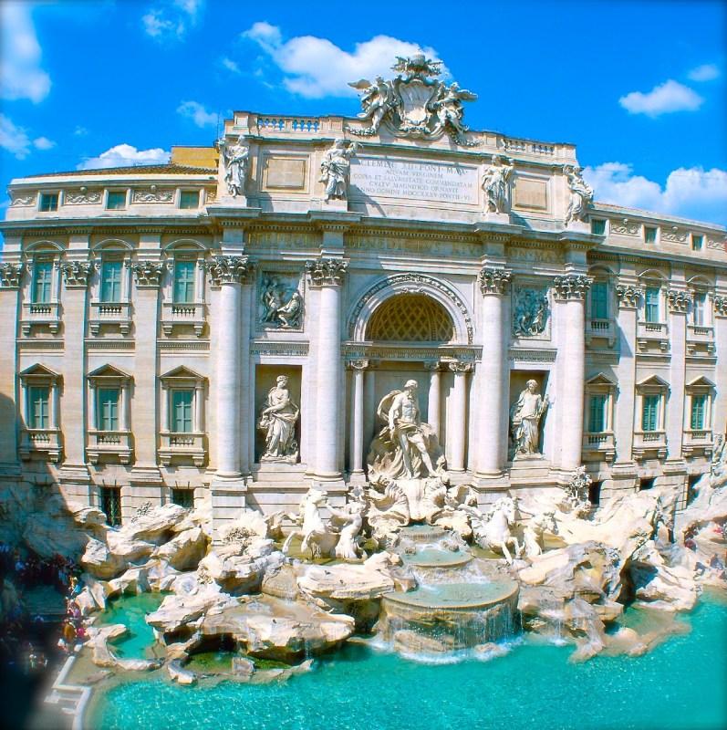 rome tivoli fountain